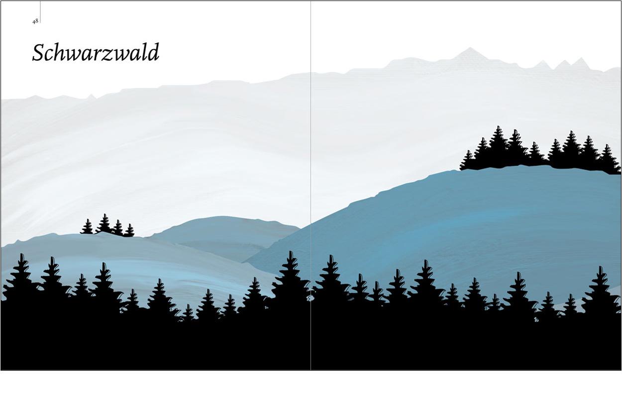 Erdgeschoss Grafik | Esther Gonstalla | Buchgestaltung | NG Deutschlands Romantische Mittelgebirge