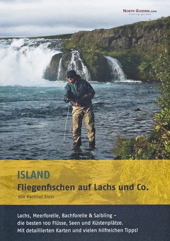 Erdgeschoss Grafik | Esther Gonstalla | Buchgestaltung | Island – Fliegenfischen auf Lachs und Co
