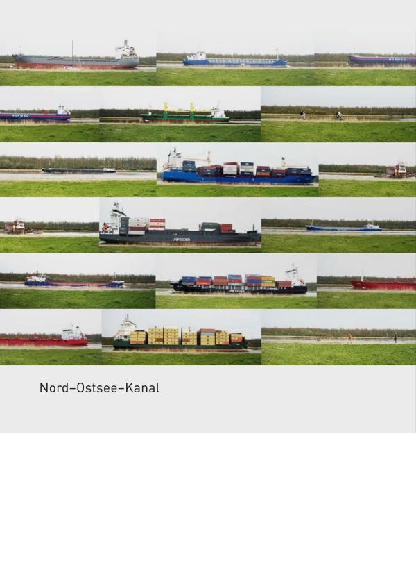 Erdgeschoss Grafik | Esther Gonstalla | Book Design | Kiel Canal