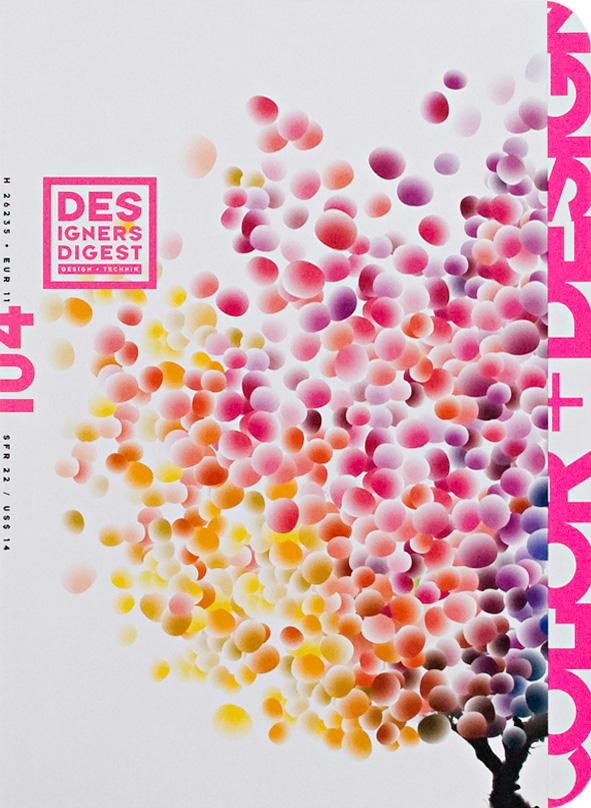 Erdgeschoss Grafik | Esther Gonstalla | Magazingestaltung | Designers Digest No. 104