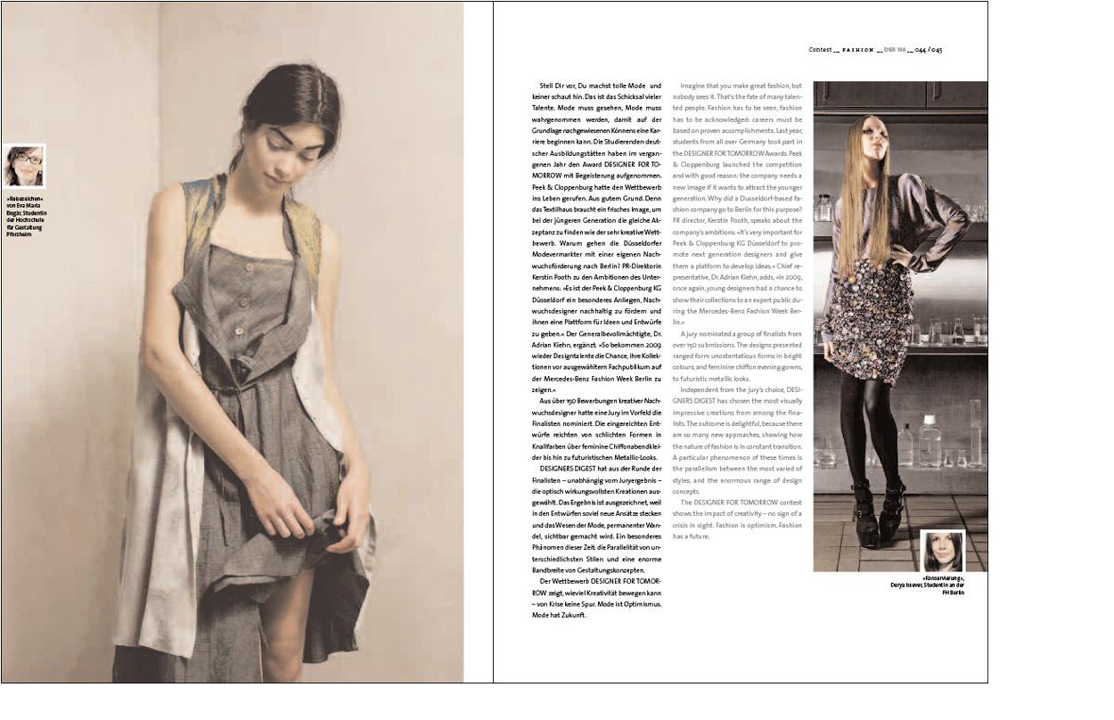 Erdgeschoss Grafik | Esther Gonstalla | Magazingestaltung | Designers Digest No. 108